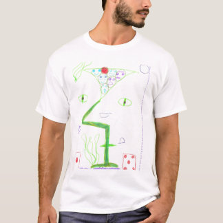 Smiley Martini T-Shirt