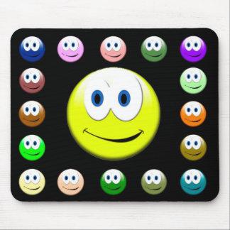 Smiley-Mausunterlage Mousepad