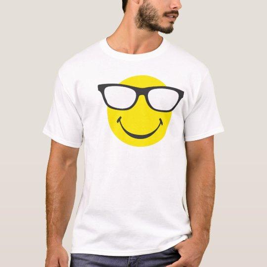 Smiley mit cooler Brille T-Shirt