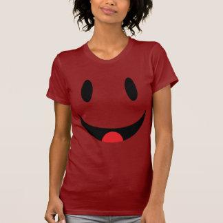 Smiley mit Zunge-Gesicht T Shirt