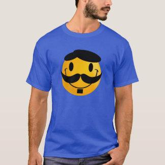 smiley mustache T-Shirt