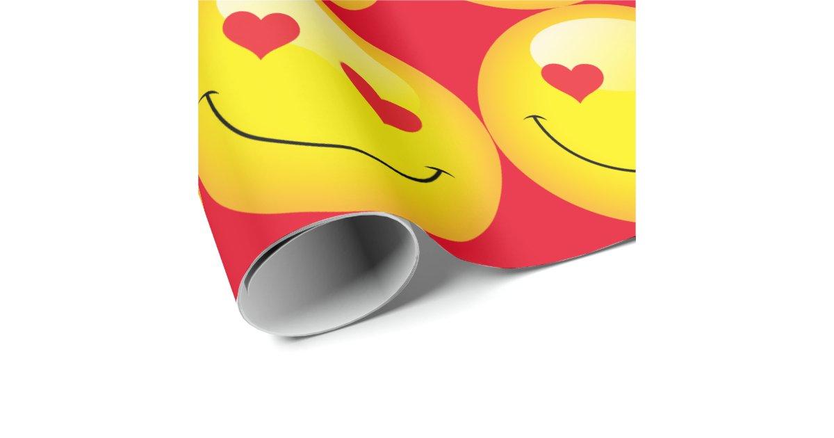 smiley niedliche emoji emoticon liebe herz augen. Black Bedroom Furniture Sets. Home Design Ideas