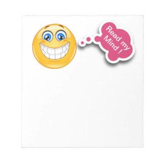 Smiley-Notizblock - SRF Kladde