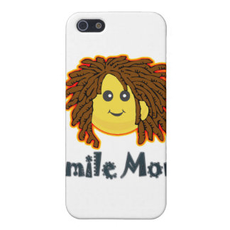 Smiley-Nuss-Bolzen Lächeln-Montages Rasta Etui Fürs iPhone 5