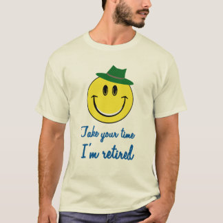 Smiley pensioniertes Shirt