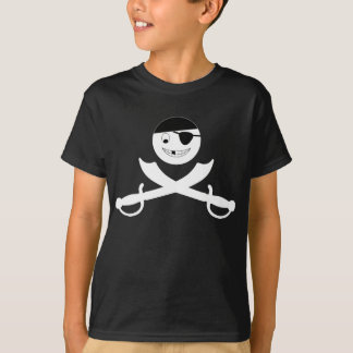 Smiley-Piratenflagge T-Shirt