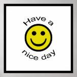 Smiley Posterdrucke