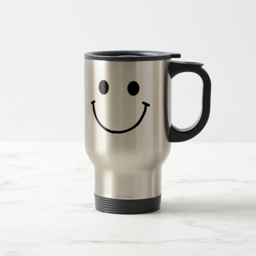 Smiley-Reise-Tasse 15 Unze