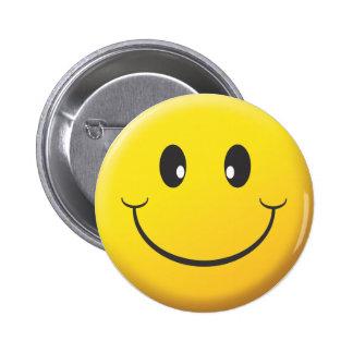 Smiley Runder Button 5,1 Cm