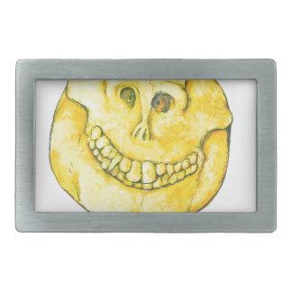 Smiley-Schädel Rechteckige Gürtelschnallen