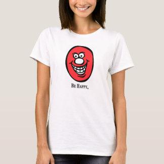 Smiley (seien Sie glücklich), *Pink T-Shirt