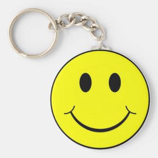 Smiley Standard Runder Schlüsselanhänger