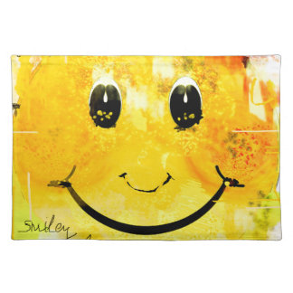 Smiley Stofftischset