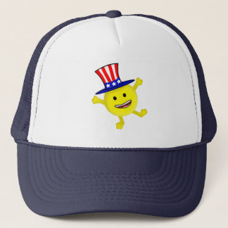Smiley-Uncle Sam Truckerkappe
