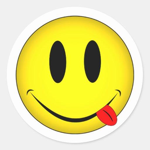 zunge smiley