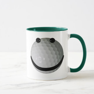 Smileygolfball Tasse