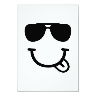 Smileysonnenbrillen 8,9 X 12,7 Cm Einladungskarte