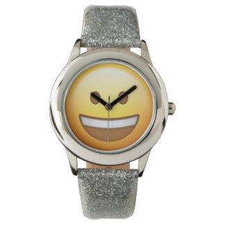 Smiling Emoji Uhr