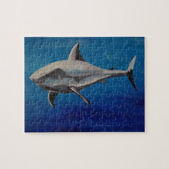 Smiling shark puzzle