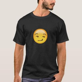 Smirking Gesicht Emoji T-Shirt