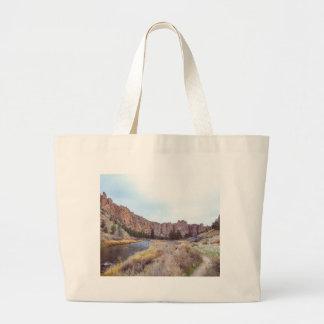 Smith-Felsen-Biegung Oregon Jumbo Stoffbeutel