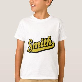 Smith im Gold T-Shirt