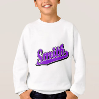 Smith in Lila Sweatshirt