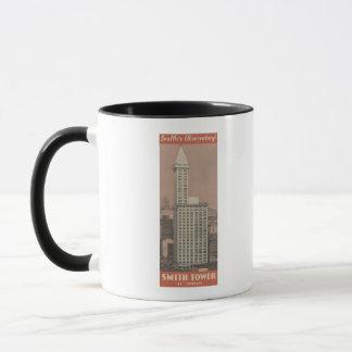 Smith-Turm, Seattles Observatorium Tasse