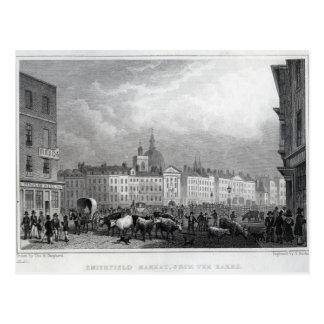 Smithfield-Markt vom Barrs Postkarte