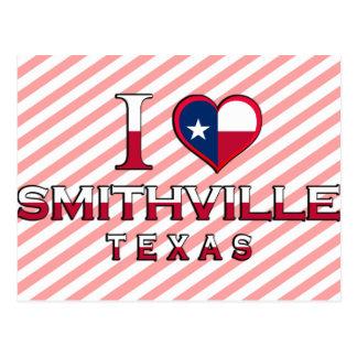 Smithville, Texas Postkarte