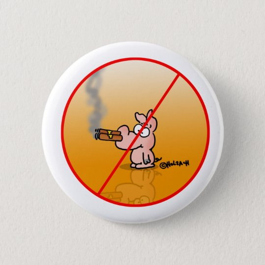 Smokefree Runder Button 5,7 Cm