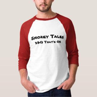 Smokey Geschichten-Baseball-Shirt T-Shirt