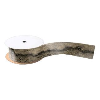 Smokey Grau Granit Satinband