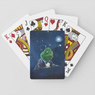 Smokings-Frosch   #1 Spielkarten