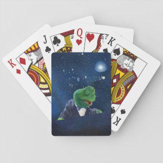 Smokings-Frosch   #2 Spielkarten