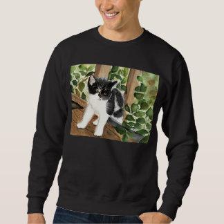 Smokings-Katze Sweatshirt