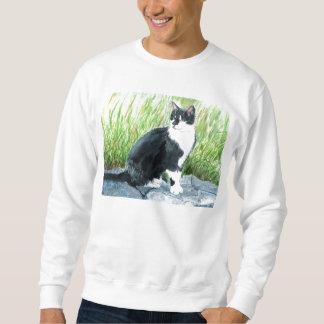 Smokings-Katzen-Sweatshirt Sweatshirt