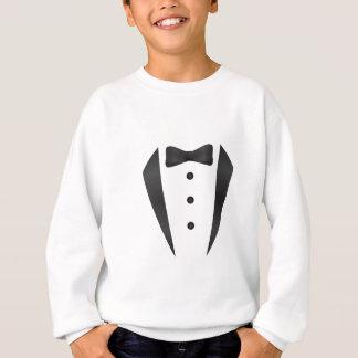 Smokingshochzeitsgeschenke und -stützen für sweatshirt