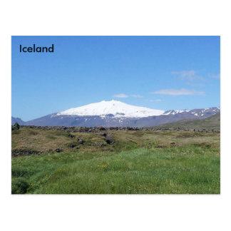 Snæfellsjökull, Island Postkarte