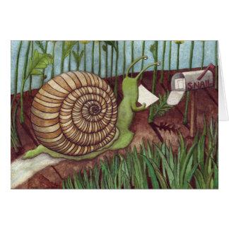 Snail mail karte