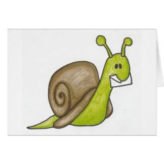 Snail mail Notecards Karte
