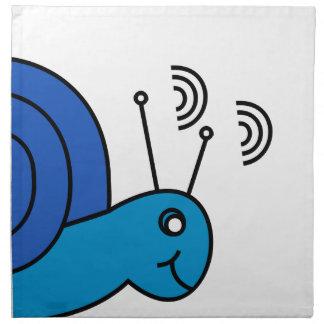 Snail mail serviette
