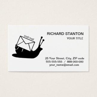 Snail mail visitenkarte