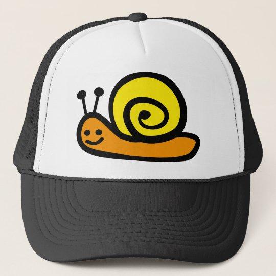 snail truckerkappe