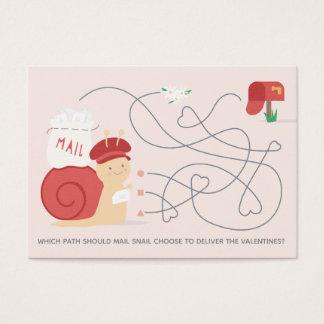 Snail- Visitenkarte