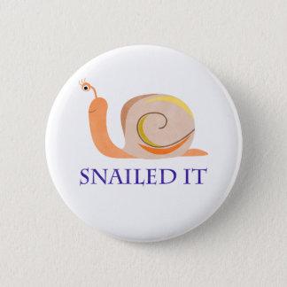 Snailed es runder button 5,7 cm