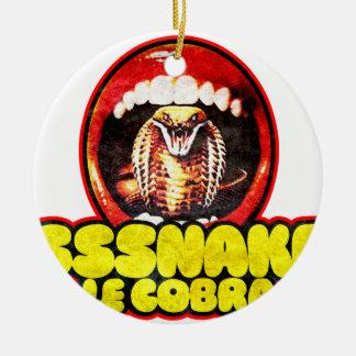 Snakes and Cobras Keramik Ornament