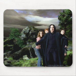 Snape Hermoine Ron Harry Mousepad