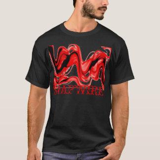 SNAPWIRE Rot-Rauch T-Shirt