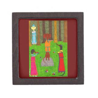 Snegurochka Prämien-Geschenkboxen Schachtel